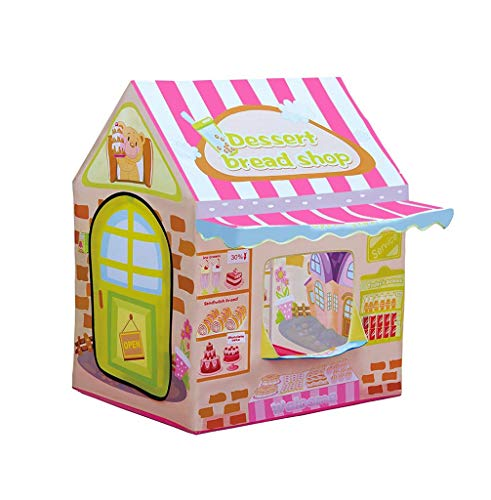 Tents Children's Interactive Game, Infant Indoor Children's Toy House for Kids to Play Games/Siesta/100 * 83 * 100CM (Size : 100 * 83 * 100CM)