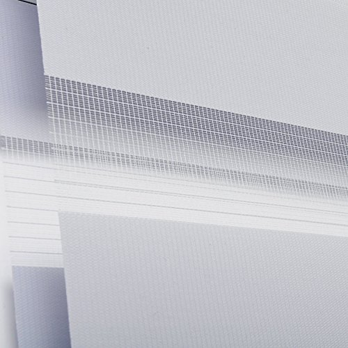 Doppelrollo Grau WOLTU - 4