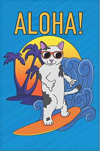 Aloha!: Notizbuch 6:9