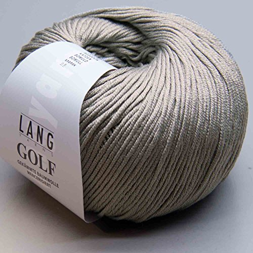 Lang Yarns Golf 0023 hellgrau