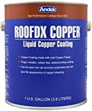 Andek RoofDX Copper, Very Durable Copper Coating made with real Copper...
