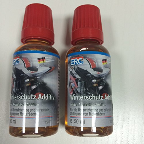 2 X ERC Biker Winterschutz-Additiv 50ml, Art.Nr. 52-0150-02 Motorrad Saisonale Überwinterung