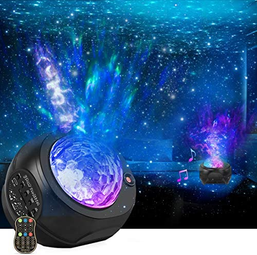 Star Night Lights Projector HueLiv 3 in 1 Galaxy Light Projector Sky Nebula Moving Ocean Wave product image