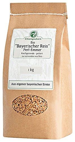 Chiemgaukorn Bio Perl-Emmer / Bayerischer Reis 1 kg