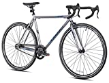 Takara Oni Single Speed Drop Bar Fixie Road Bike, 700c, Medium