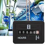 10-80V AC/DC Contaore generatore completamente sigillato Contaore al quarzo per generatore motore