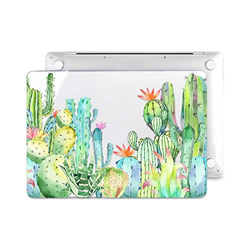 Floral Laptop Case for MacBook Air A2337 A2179 2020 Pro 13 16 Inch Touch Bar A2289 A2141 A2338 Plastic Hard Case Keybaord Skin-Z637-Model (A1989 706)