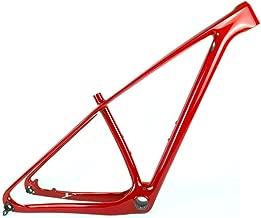 SmileTeam T1000 Carbon Red MTB Frame 29er MTB Carbon Frame 29 Carbon Mountain Bike Frame 142x12 or 135x9mm Bicycle Frame