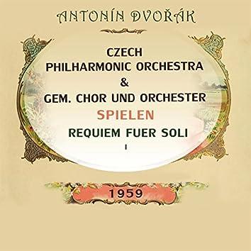 Czech Philharmonic Orchestra / GEM. Chor und Orchester spielen: Antonín Dvořák: Requiem fuer Soli 1 (Live)