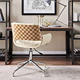 Volans Home Office Chair Mid Century Modern Bentwood Swivel Accent...