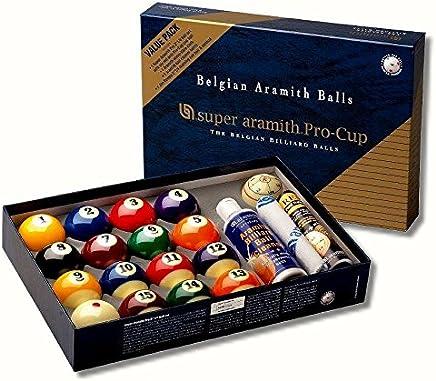 Unbekannt Kugelsatz Super-Aramith Pro Cup Value Pack 57,2 mm B0778V7392    Wirtschaftlich und praktisch