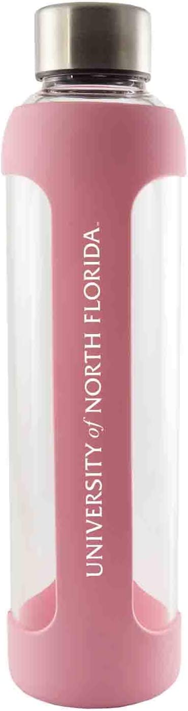University of North Special sale item Florida-Glass Water Silicone Sleeve-20 with Max 50% OFF