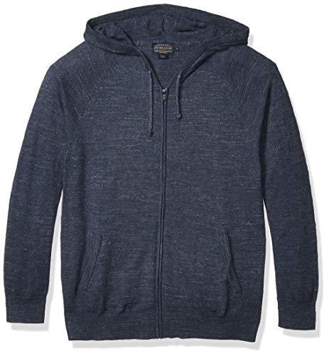 Pendleton Men's Zip Sweater Hoody, True Blue, XL