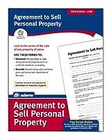 Adams契約を販売する個人プロパティフォーム、8.5X 11インチ、ホワイト( lf115)