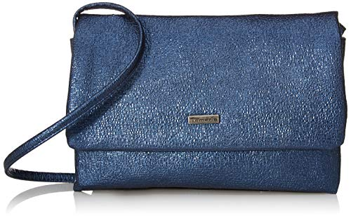 Tamaris Damen Louise Clutch, Blau (Blue), 1x12x23 cm