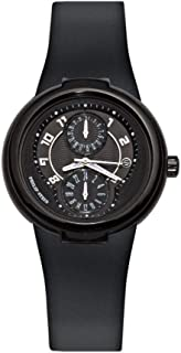 Philip Stein Women's 31-AB-RBB Active Black Rubber Strap Watch
