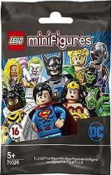 top 10 rarest lego minifigures Lego Minifigure-DC Super Hero Series-New Sealed Blind Sack-Random Set 6 (71026)