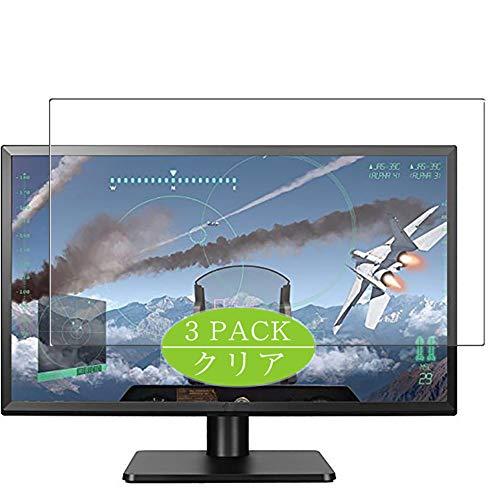 VacFun 3 Piezas HD Claro Protector de Pantalla para LG Q2577 / 27UD58P-B 27' Display Monitor, Screen Protector Sin Burbujas...