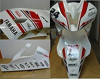Adhesivos Moto Carenado Yamaha R6 Racing Rojo