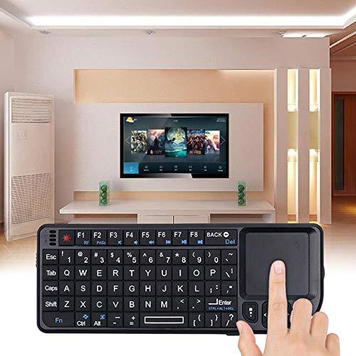 Kebidumei Mini teclado inalámbrico Air Mouse 2.4G Handheld Touchpad para juegos para teléfono Smart TV Box Android 2.4 G