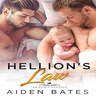 Hellion's Law: A Bad Boy Romance audiobook cover art