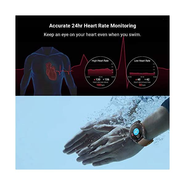 Honor Magic Watch 2 (46mm) - Smartwatch Flax Brown 5