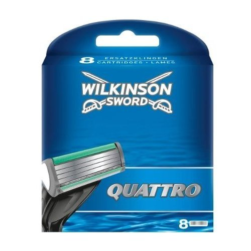 Wilkinson Sword Quattro Klingen 16er Sparpack