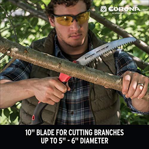 Corona RS 7265D RazorTOOTH Folding Pruning Saw, 10-Inch