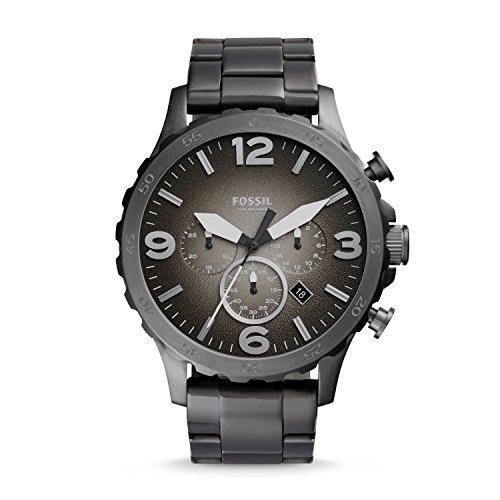 Fossil Reloj Cronógrafo para Hombre de Cuarzo con Correa en Acero Inoxidable JR1437
