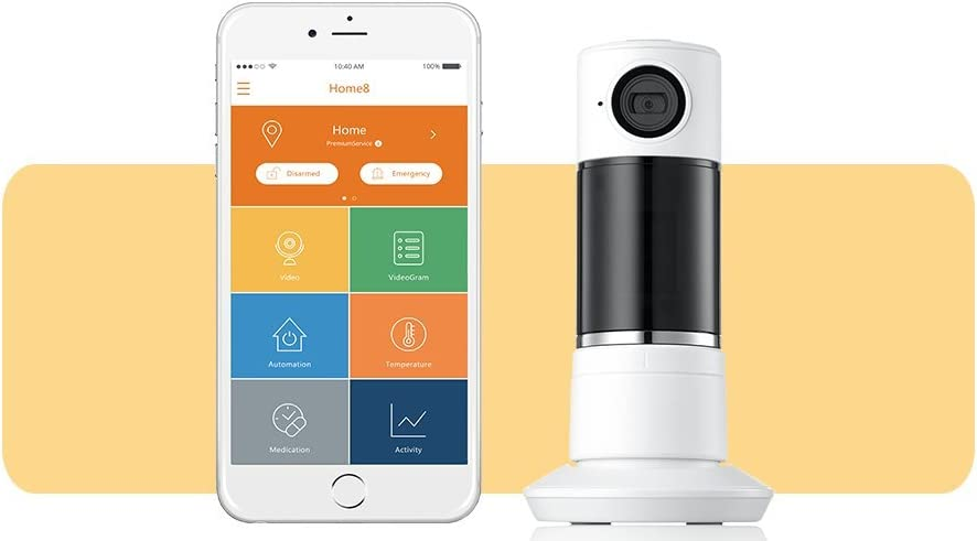 Home8 Interactive Panoramic Talking Twist New popularity Two- HD Camera Deluxe Wi-Fi