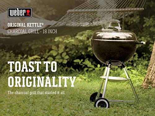 Weber 441001 Original Kettle 18-in Charcoal Grill