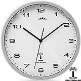 Deuba Monzana Reloj de Pared Radiocontrolado Reloj de Cuarzo