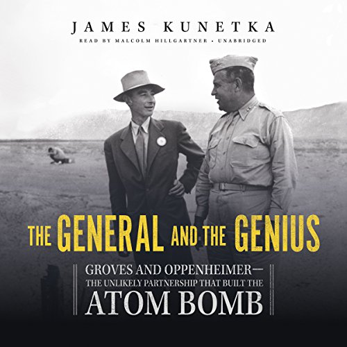 The General and the Genius audiobook cover art