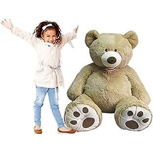 "Hugfun Giant 53"" Luxury Plush XL Teddy Bear:Autobit"