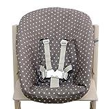 Blausberg Baby - Funda para stokke Newborn Set Juego estrellas, color marrón