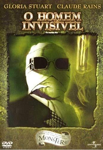 O Homem Invisivel (Coleção Universal Studios Home Of The Original Monsters)