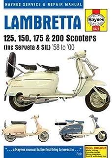 Lambretta Li, TV, SX & DL Scooters Service & Repair Manual: 1958-1998 (Haynes Service & Repair Manual) (Hardback) - Common