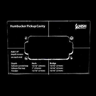 KAISH Acrylic Humbucker Pickup Routing Template Pickup Templates for Body