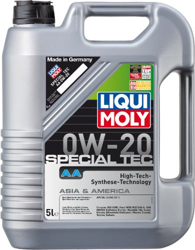Bester der welt LIQUI MOLY 9734 Special Tech AA0W-20 Motoröl, 5 Liter