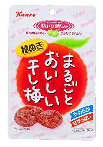 カンロ まるごとおいしい干し梅 19g×6袋