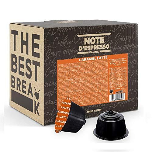 Note d'Espresso Kapseln für Nescafe Dolce Gusto Kaffeemaschinen, Caramel Latte, 14g (48-er Pack)