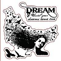 ドリームトランスペアレントクリアスタンプ/DIYスクラップブッキングフォトアルバム用シリコンシール/カード作成W1632