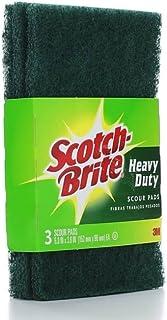 SCOUR PADS SCOTCH BRITE HD 3PK