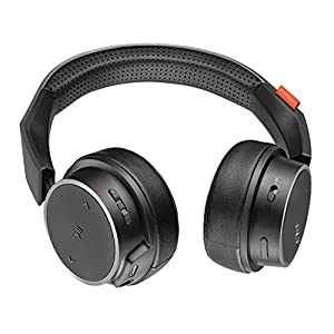 Plantronics BackBeat FIT 500 On-Ear Sport Headphones, Wireless Headphones with Sweat-Resistant Nano-Coating Technology by P2i, Black