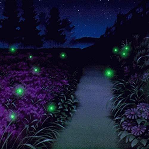 Led Solar Lichterkette Outdoor, ZHONGXIN Flackernde Glühwürmchen-Lichterketten mit 7 amüsanten Glühwürmchen-Glühbirnen bringen Erinnerungen an Ihre Kindheit zurück