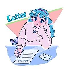みきなつみ「Letter」の歌詞を収録したCDジャケット画像