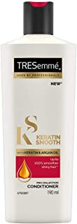 Tresemme Keratin Smooth Conditioner, With Keratin And Argan Oil For Smoother And Shinier Hair, 190 ml