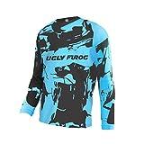 UGLY FROG Manica Lunga Magliette Uomo MTB Downhill Il Collo Rotondo Primavera Jersey Mountain Bike Abbigliamento