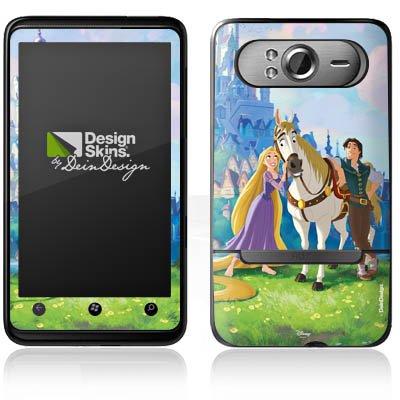 DeinDesign HTC HD7 Case Skin Sticker aus Vinyl-Folie Aufkleber Disney Rapunzel verföhnt Merchandise Geschenke