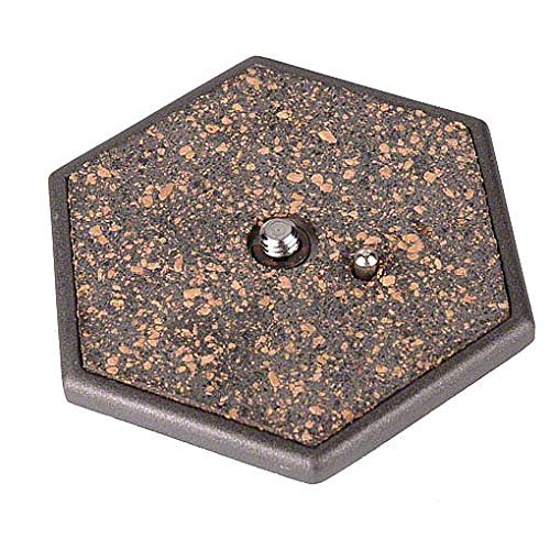 Zapata Hexagonal para Cabezas y trípodes Ultralyt